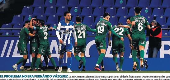 EL COMPOS CONQUISTA RIAZOR: 0-2