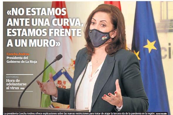 LA RIOJA CIERRA LOS ESTABLECIMIENTOS NO ESENCIALES A LAS CINCO DE LA TARDE