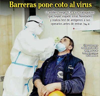 BARRERAS PONE COTO AL VIRUS