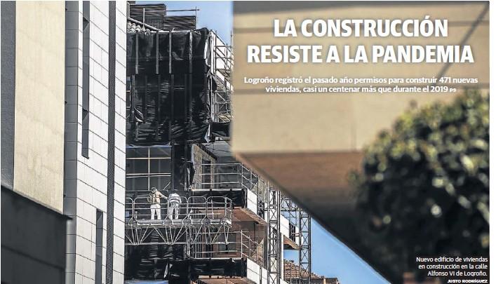 LA CONSTRUCCIÓN RESISTE A LA PANDEMIA