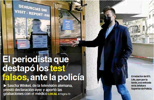 «NO SALDREMOS DE CASA»