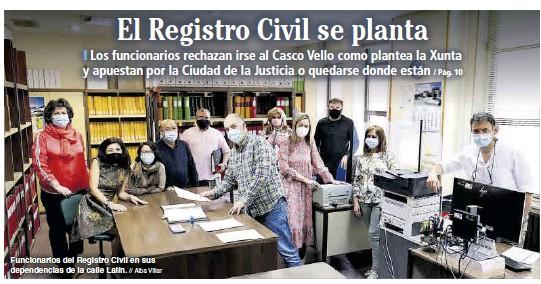 EL REGISTRO CIVIL SE PLANTA