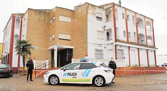 LA POLICÍA VIGILA EL CONFINAMIENTO DE LOS ESQUILADORES