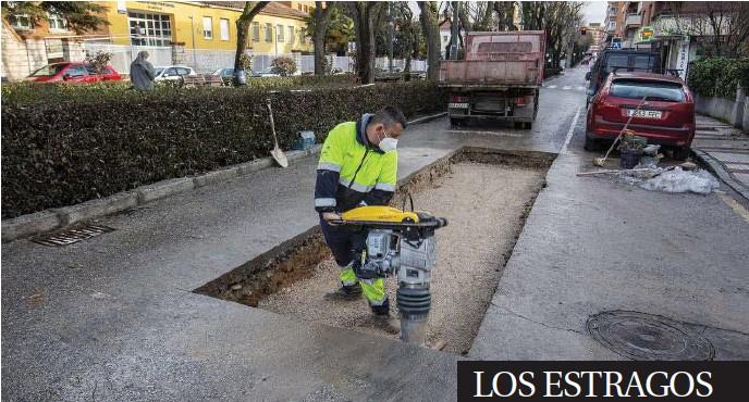 LOS ESTRAGOS DE 'FILOMENA'