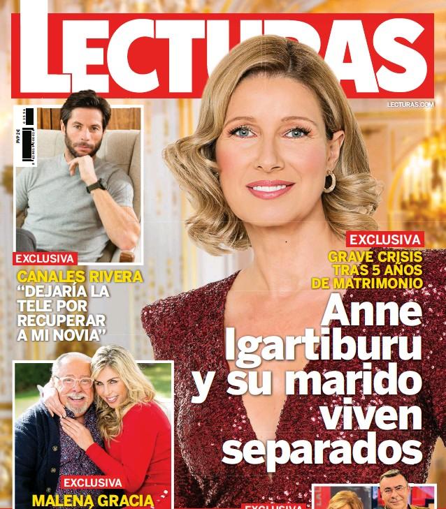 GRAVE CRISIS TRAS 5 AÑOS DE MATRIMONIO ANNE IGARTIBURU Y SU MARIDO VIVEN SEPARADOS