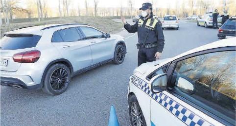 ►LES POLICIES LOCALS TAMBÉ FAN CONTROLS.